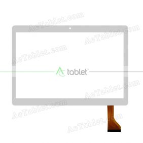 JJT105-1 Digitizer Glass Touch Screen Replacement for 9.6 Inch MID Tablet PC