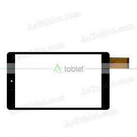 YLD-CEG7907-FPC-A0 Digitizer Glass Touch Screen Replacement for 7.9 Inch MID Tablet PC
