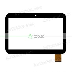 Digitizer Touch Screen Replacement for Clementoni 12243 Clempad XL 6.0 Plus Quad Core Tablet PC