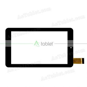 CN096FPC-V0 Digitizer Glass Touch Screen Replacement for 7 Inch MID Tablet PC