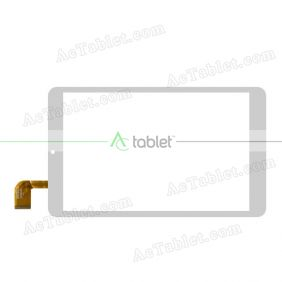 xn1608 Digitizer Glass Touch Screen Replacement for 8 Inch MID Tablet PC