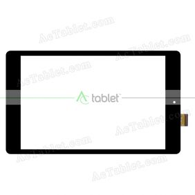YTG-G80092-F2 V1.0 Digitizer Glass Touch Screen Replacement for 8 Inch MID Tablet PC