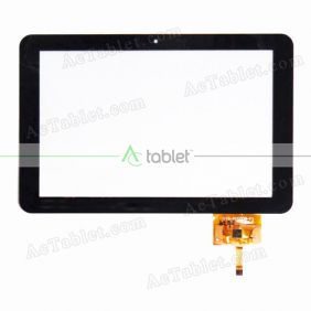 YTG-P10008-F1 Digitizer Glass Touch Screen Replacement for 10.1 Inch MID Tablet PC