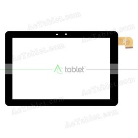 YTG-G10109-F2 Digitizer Glass Touch Screen Replacement for 10.1 Inch MID Tablet PC