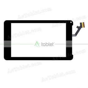 FPC-CTP-0700-139 Digitizer Glass Touch Screen Replacement for 7 Inch MID Tablet PC