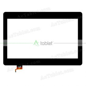 FCD0485-0515 TYT Digitizer Glass Touch Screen Replacement for 11.6 Inch MID Tablet PC