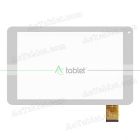 Replacement Touch Screen for MLS iQTab Splendid ΜΤ8127 Quad Core 10.1 Inch Tablet PC