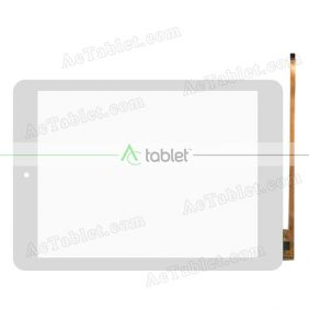 RS8F213_V2.0 Digitizer Glass Touch Screen Replacement for 8 Inch MID Tablet PC