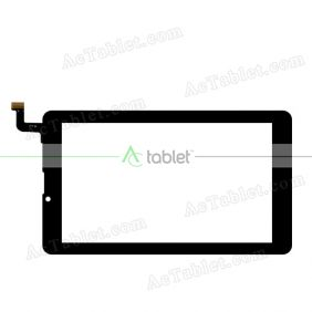 FYX DJ Digitizer Glass Touch Screen Replacement for 7 Inch MID Tablet PC
