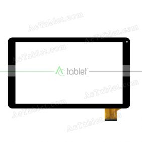 YLD-CEG9932-FPC-A0 Digitizer Glass Touch Screen Replacement for 10.1 Inch MID Tablet PC