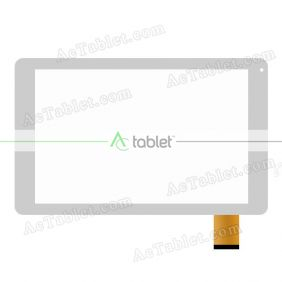 Replacement Digitizer Touch Screen for Swipe X703 MT8321 Quad Core 10.1 Inch Tablet PC