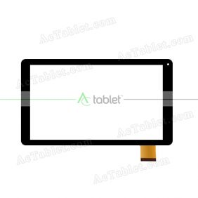 Digitizer Touch Screen Replacement for Bitmore MobiTab 10 II 3G Quad Core 10.1 Inch Tablet PC