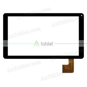 HSCTP-493-10.1-V1 Digitizer Glass Touch Screen Replacement for 10.1 Inch MID Tablet PC