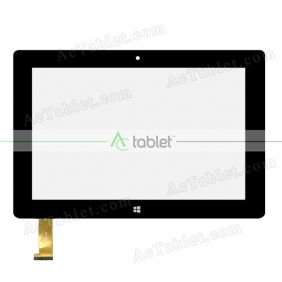 WJ907-FPC V3.0 Digitizer Glass Touch Screen Replacement for 10.1 Inch MID Tablet PC
