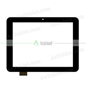 MT70807-V2 Digitizer Glass Touch Screen Replacement for 8 Inch MID Tablet PC