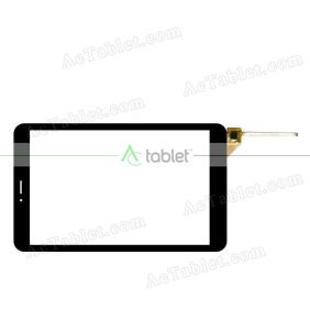 HLD-PG802S-R2 MB806M6 Digitizer Glass Touch Screen Replacement for 8 Inch MID Tablet PC