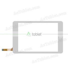 AD-C-792115-FPC Digitizer Glass Touch Screen Replacement for 7.9 Inch MID Tablet PC