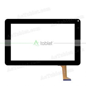 GY90010A Digitizer Glass Touch Screen Replacement for 9 Inch MID Tablet PC