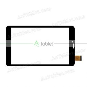 YJ390FPC-V1 Digitizer Glass Touch Screen Replacement for 8 Inch MID Tablet PC
