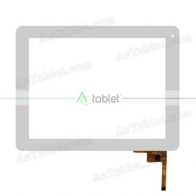 QSD 702-97003-37 Digitizer Glass Touch Screen Replacement for 9.7 Inch MID Tablet PC