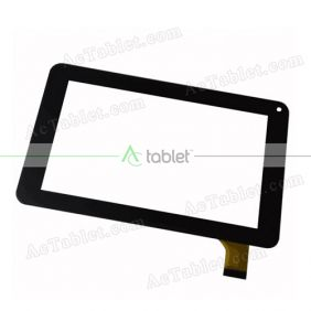 QPS-M002Q-2 Digitizer Glass Touch Screen Replacement for 7 Inch MID Tablet PC