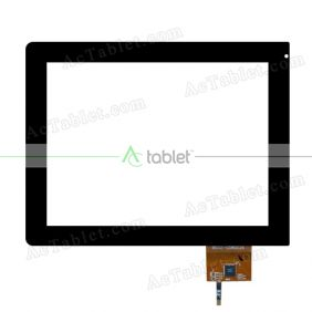 B032-C08002A Digitizer Glass Touch Screen Replacement for 8 Inch MID Tablet PC