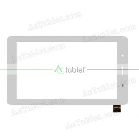 PG70086B1-FPC Digitizer Glass Touch Screen Replacement for 7 Inch MID Tablet PC
