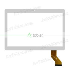YLD-CECA442-FPC-A2 Digitizer Glass Touch Screen Replacement for 10.1 Inch MID Tablet PC