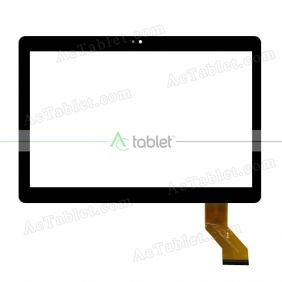 YLD-CECA442-FPC-A1 Digitizer Glass Touch Screen Replacement for 10.1 Inch MID Tablet PC