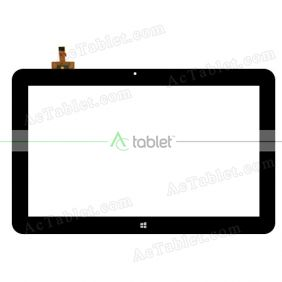 Digitizer Touch Screen Replacement for Cube iWork11 Stylus Dual Boot 10.6 Inch Windows Tablet PC