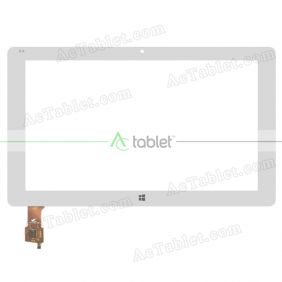 Digitizer Touch Screen Replacement for Cube iWork1X Dual Boot Intel X5-Z8300 11.6 Inch Windows Tablet PC