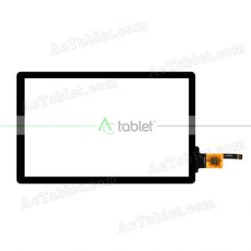 HN-DR80028-V1 Digitizer Glass Touch Screen Replacement for 8 Inch MID Tablet PC
