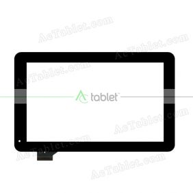 SG6133A-FPC-V1-1 Digitizer Glass Touch Screen Replacement for 10.1 Inch MID Tablet PC