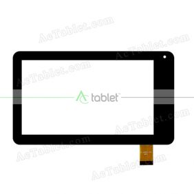 YL-CG004-02A Digitizer Glass Touch Screen Replacement for 7 Inch MID Tablet PC