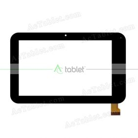 070-155-2 Digitizer Glass Touch Screen Replacement for 7 Inch MID Tablet PC