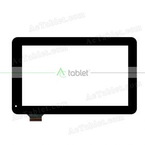 C142233C1-DRFPC251T-V1.0 Digitizer Glass Touch Screen Replacement for 10.1 Inch MID Tablet PC