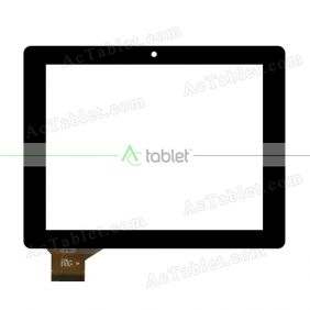 C195149B1-FPC688DR Digitizer Glass Touch Screen Replacement for 8 Inch MID Tablet PC