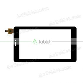CN005C0700G12V0 Digitizer Glass Touch Screen Replacement for 7 Inch MID Tablet PC