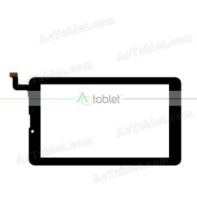 DP070148-F1V1 Digitizer Glass Touch Screen Replacement for 7 Inch MID Tablet PC