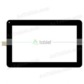 C146257A2-DRFPC378T-V1.0 Digitizer Glass Touch Screen Replacement for 10.1 Inch MID Tablet PC