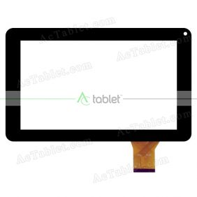 Digitizer Touch Screen Replacement for Ematic Edan XL EGS109BL 9 Inch Tablet PC