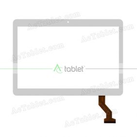 SQ-PGA1512W01-FPC-A0 Digitizer Glass Touch Screen Replacement for 10.1 Inch MID Tablet PC