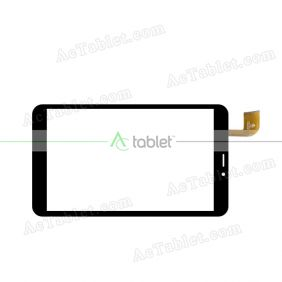 HK80DR2891 Digitizer Glass Touch Screen Replacement for 8 Inch MID Tablet PC