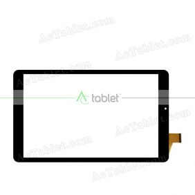 YJ406FPC-V1 Digitizer Glass Touch Screen Replacement for 8 Inch MID Tablet PC