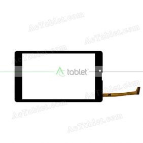 HSCTP-827-8-V1 Digitizer Glass Touch Screen Replacement for 8 Inch MID Tablet PC