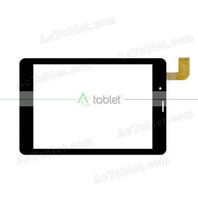 ZHPG-0794-R1 Digitizer Glass Touch Screen Replacement for 7.9 Inch MID Tablet PC