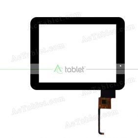FPC-CTP-0975-073-1 Digitizer Glass Touch Screen Replacement for 9.7 Inch MID Tablet PC