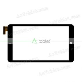 MF-788-080F-2 FPC Digitizer Glass Touch Screen Replacement for 8 Inch MID Tablet PC