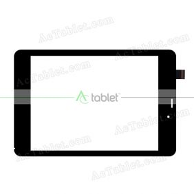 FPC-C079T1171A Digitizer Glass Touch Screen Replacement for 7.9 Inch MID Tablet PC
