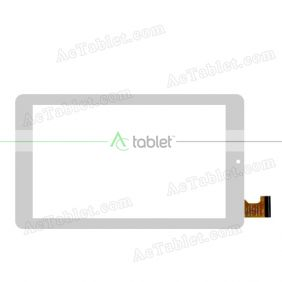HOTATOUCH HC184104Q1 FPC V1 Digitizer Glass Touch Screen Replacement for 7 Inch MID Tablet PC